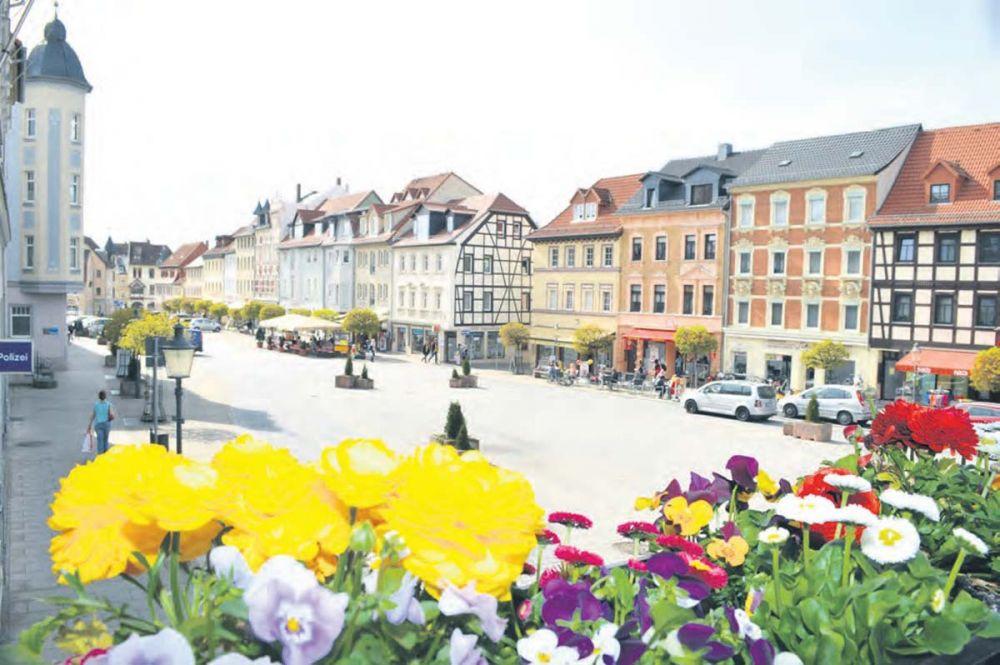 Marktplatz Schmölln